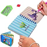 LuckyFish Kids Diamond Painting Kits, DIY 5D Full Drill Crystal Drawing Mosaics Craft Kit for Kids and Beginner with Storage Box(10 Insect Patterns)