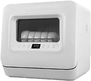 GuoEY Lavavajillas automático doméstico pequeño Escritorio Inteligente Bol instalación Gratuita 5 Juegos de Cocina Secado automático de llenado de Agua, Ahorro de energía Lavado súper rápido