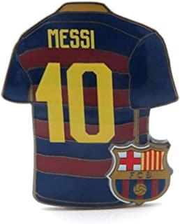 cdc32fc5de1 JF Sports Canada Spanish Primera Liga Barcelona FC Barcelona Messi  10 Home  Jersey Pin