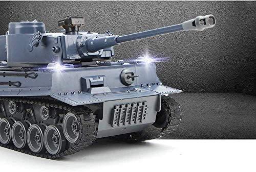 Bck 01:18 Segunda Guerra Mundial alemana del tigre 171 Panther A (2) de alta velocidad RC Tanque rastreadores carro tanque de juguete grande de simulación de carga Niño tanque de control remoto del ta