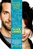 SILVER LININGS PLAYBOOK MOVIE POSTER APPROX SIZE 12X8