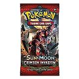 Pokemon pok81249Sol y Luna carmesí invasión Booster Paquetes Tarjeta Juego