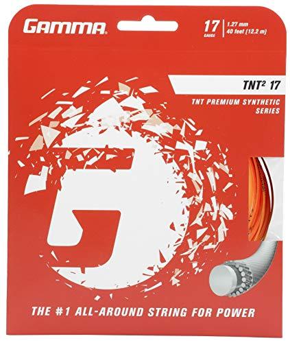 Gamma Corda da tennis TNT² 12,2 m Set 17 (1,27 mm) arancione
