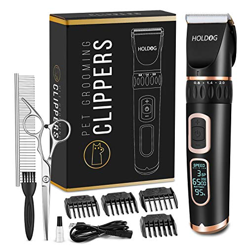 Holdog Pet Grooming Clippers