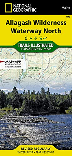 Allagash Wilderness Waterway North (National Geographic Trails Illustrated Map, 400) -  National Geographic Maps