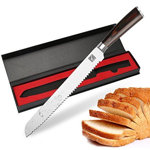 imarku Couteau De Chef, 8 inch Acier Inoxydable...
