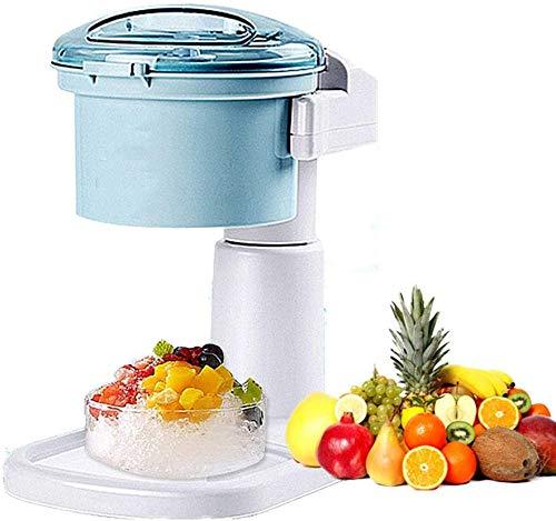 HWMYA Elektrische bewegliche Ice Crusher 1.2L Haushalt Smoothie Maschine Spaß und einfach Iced Treat - Perfekt für Cocktails Desserts