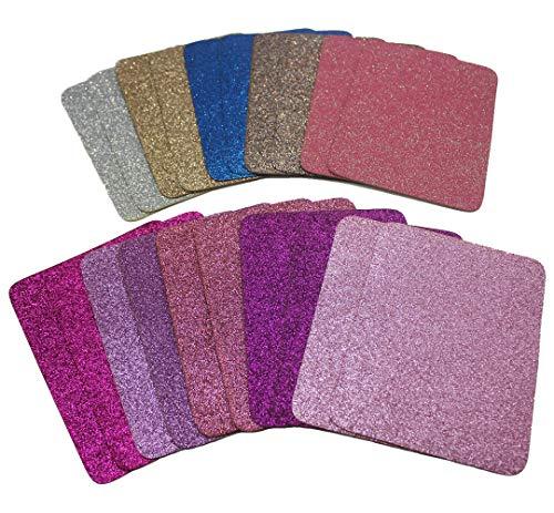 Aliyer 20 Stück Bügelflicken Patch Kleidung Sofa Tuch Patches zum Aufbügeln Aufbügelflicken Patch Zum Bügeln Und Nähen. (Farbe 10)
