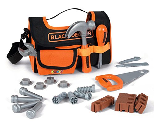 Smoby 7600360142 Tool Bag, 21 Accessories