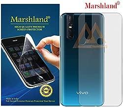 MARSHLAND Matte Finish Back Screen Protector Flexible Anti Scratch Bubble Free Back Screen Guard Compatible for Vivo V15