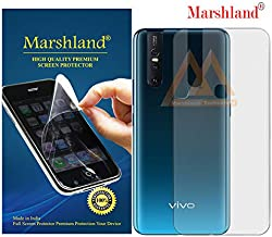 MARSHLAND Matte Finish Back Screen Protector Flexible Anti Scratch Bubble Free Back Screen Guard Compatible for Vivo V15
