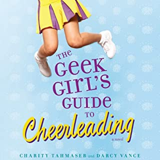 The Geek Girl's Guide to Cheerleading audiobook cover art