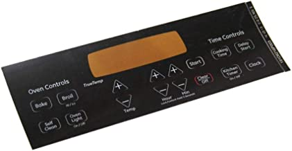 Ge WB27T11229 Wall Oven Control Faceplate Genuine Original Equipment Manufacturer (OEM) Part