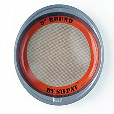 Silpat Round Cake Liner, 9 , Orange