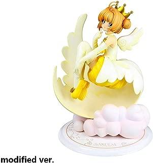 Yanshangqi Ciruela Cardcaptor Sakura: Kinomoto Ángel Corona PVC Figura Estatua - 7.08 Inches