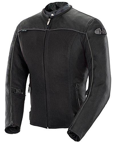 Joe Rocket Velocity Women's Mesh Motorcycle Jacket (Black, 1 Diva)