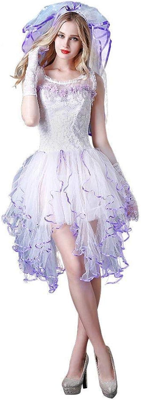 Sexy Lingerie Bride White Wedding Dress Women Nightwear Lace Babydoll Strap Chemise Halter Lingerie