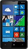 Nokia Lumia 820 - Smartphone libre Windows Phone (pantalla 4.3', cámara 8 Mp, 8 GB, Dual-Core 1.5 MHz, 1 GB RAM), negro (Reacondicionado)