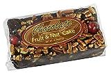 Grandma's Chocolate Fruitcake Fudge Brownie like Fruit and Nut Cake, Plump Cherries, Pineapple, Raisins, Walnuts, Pecans by Beatrice Bakery in One Pound Loaf