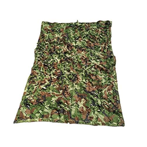 WXFQY Tissu Ombre Tente Filet extérieur Filet de Camouflage/Camouflage Filet Anti-contrefaçon, Oxford Chasse Tissu Tir Cacher l'Armée for Hide Camping Cryptage Multifonctionnel (Size : 6 * 6m)