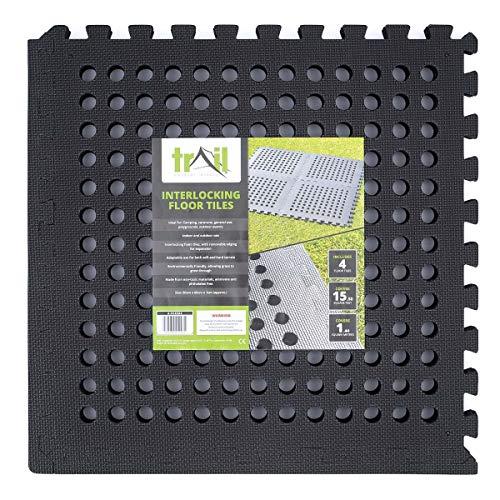 EVA Foam Interlocking Mats Outdoor Awning Safety Drainage Gym Flooring Squares