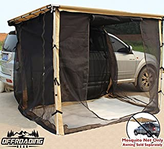 Mosquito Net/Mesh Enclosure Only for Offroading Gear 6.5'L x 8'W Awning