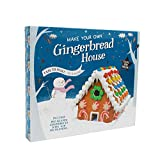Large Make Your Own Christmas Gingerbread House Kit - Easy to Make - No Baking - Includes Pre-Shaped Gingerbread, Icing & Decorations - Christmas Fun for All The Family!