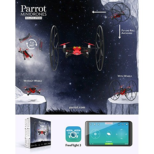 Parrot Rolling Spider Minidrone rot