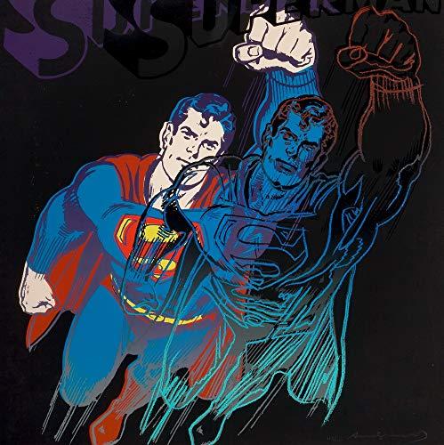 Berkin Arts Andy Warhol Giclee Papel de Arte impresión Obras de Arte Pinturas Reproducción de Carteles(Superhombre)