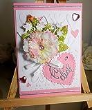 Handmade Grußkarte Glückwunsch Klappkarte Geschenkkarte - Für Dich - Karte mit Umschlag