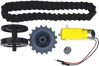 Junlinto, Smart Tank Track Conveyor Belt TT Motor Drive Wheels Kits Accesorios de Bricolaje