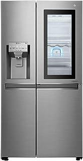 Réfrigérateur américain LG GSI960PZAZ - Réfrigerateur US 601 litres - Distributeur Eau / Glaçons / Glace pilée - Total No ...