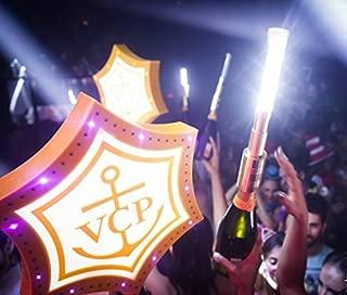 LED STROBE BATON TOPPER Bottle Service Sparkler for Vip Nightclubs Led Sparklers Bottle Baton 10PACK -Gold Case--