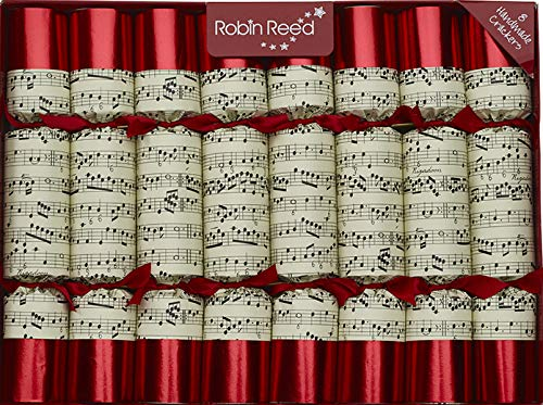 R&R 8 x 10 Handmade Christmas Party Decorations - containing Musical Whistles