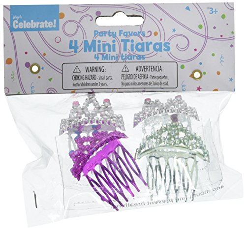 Kole Imports Mini Tiaras Party Favors