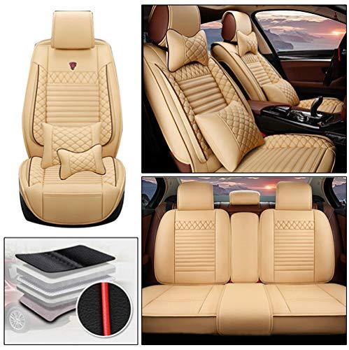 Handao-US Juego completo de fundas de asiento de coche para Subaru BRZ de 5 asientos, protección im