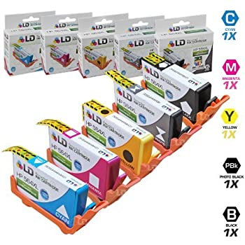 jaluckda shop Remanufactured Ink Cartridge Replacement for HP 564XL Black,Cyan,Magenta,Yellow , 4-Pack