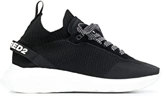 DSQUARED2 Luxury Fashion Uomo SNM007459202114M063 Nero Poliestere Sneakers   Autunno-Inverno 20