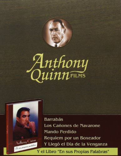 Pack Anthony Quinn [DVD] Caja De Madera