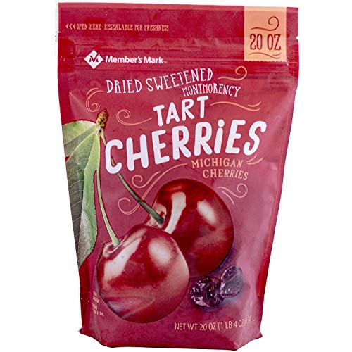 Member#039s Mark Dried Montmorency Tart Cherries 20 oz pack of 2