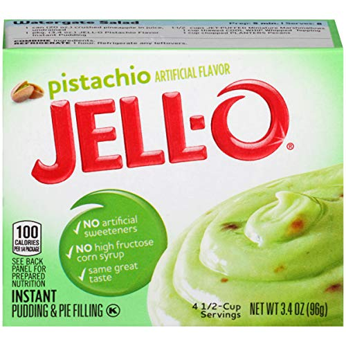 JELLO Instant Pistachio Pie Filling Mix (3.4oz Boxes, Pack of 24)