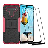 HAOTIAN Case for LG K41S / K51S Case and 2 Screen