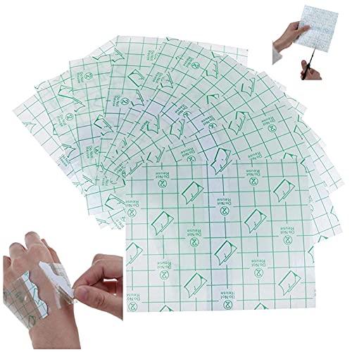 50 Sheet Tattoo Aftercare Bandage Waterproof Transparent Film Dressing...