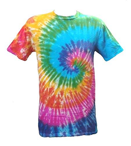 Tie Dye Rainbow Spiral 700501 T-Shirt 200 M