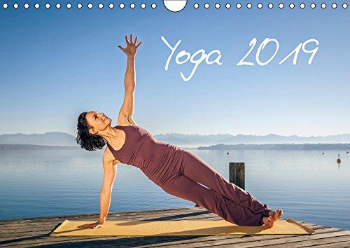Yoga (Wandkalender 2019 DIN A4 quer): Meditatives Yoga am See (Monatskalender, 14 Seiten ) (CALVENDO Sport)