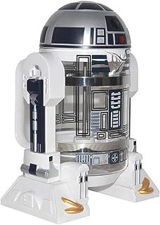 NBCDY Máquina de café Manual, cafetera Creative Robot R2D2 Star Wars, Mini cafetera de Filtro de Acero Inoxidable, Olla de presión para Olla de Aislamiento doméstico