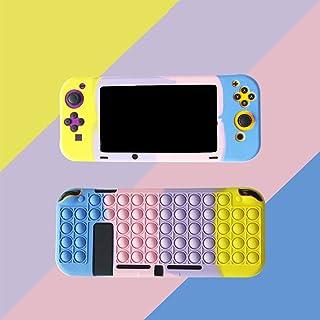 Nint_endo Swi_tch Classic Famous Video Game Desgin Cover for , Relieve Stress Push Pop Bubble Sensory Toy Desgin Shockproo...