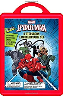 Spider-Man: A Storybook Book and Magnetic Play Set
