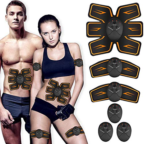 Abs Stimulator, Ab Workout Equipment, Abdominal Toning Belt Ultimate Ab Stimulator for Men Women, Work Out Power Fitness Abdominal Trainer with 6 Modes & 10 Levels