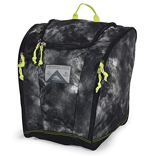 High Sierra Ski Boot/Snowboard Boot Bag Backpack - Atmosphere/Black/Zest